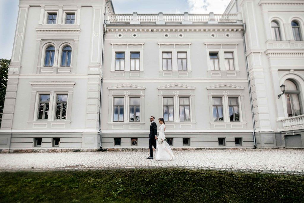 Vestuvių fotografija Plungės dvare
